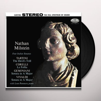 Nathan Milstein Four Italian Sonatas Vinyl Record