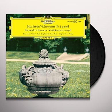 Erica Morini Bruch/Glazunov: Violin Concertos Vinyl Record