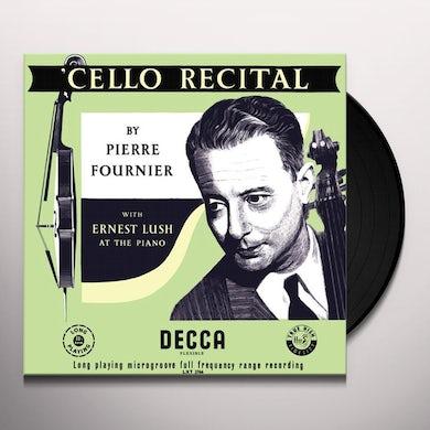 Pierre Fournier Cello Recital Vinyl Record