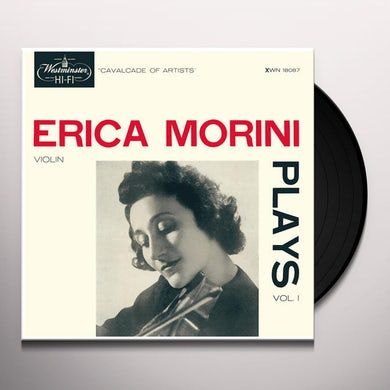 Erica Morini Plays: Vol. 1 Vinyl Record