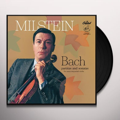 Nathan Milstein Bach: Partitas & Sonatas For Unaccompanied Violin Vinyl Record