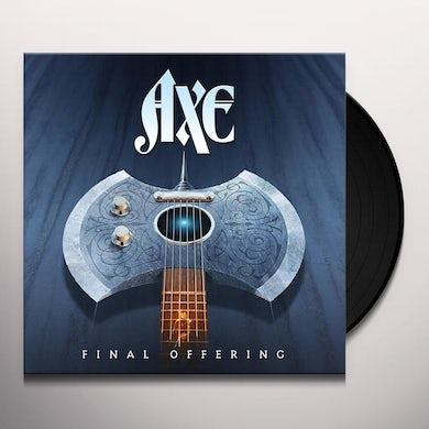Axe Final offering  lp Vinyl Record