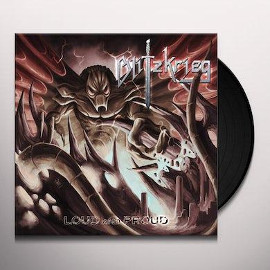 Blitzkrieg Loud and proud Vinyl Record