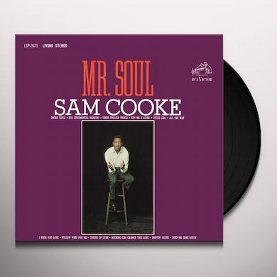 Sam Cooke MR. SOUL Vinyl Record - 180 Gram Pressing