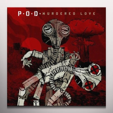 P.O.D. MURDERED LOVE Vinyl Record - Colored Vinyl, Limited Edition