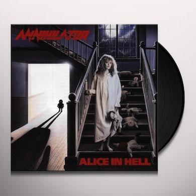 Annihilator ALICE IN HELL Vinyl Record - 180 Gram Pressing