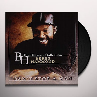 Beres Hammond CAN'T STOP A MAN: BEST OF Vinyl Record