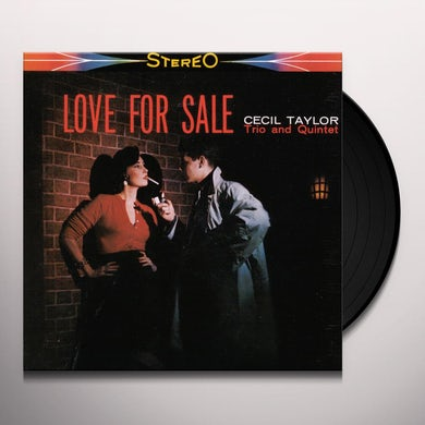 Cecil Taylor LOVE FOR SALE (BONUS TRACK) Vinyl Record - 180 Gram Pressing