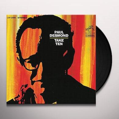 Paul Desmond TAKE TEN Vinyl Record - 180 Gram Pressing