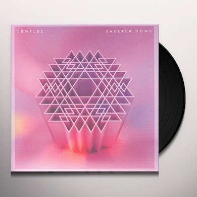 Temples SHELTER SONG Vinyl Record - UK Release