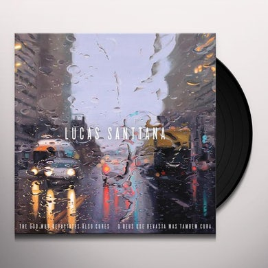 Lucas Santtana GOD WHO DEVASTATES ALSO CURES Vinyl Record