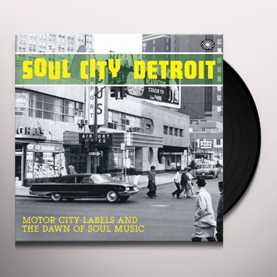 Soul City Detroit / Various Vinyl Record