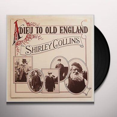 Shirley Collins ADIEU TO OLD ENGLAND Vinyl Record