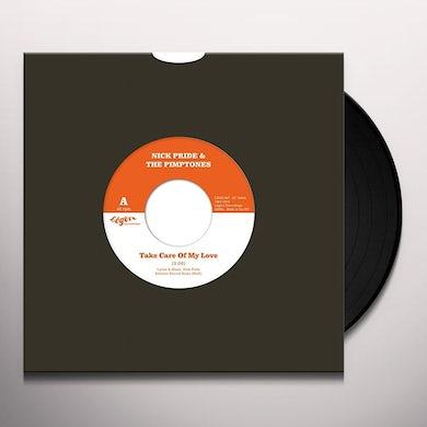 Nick Pride & The Pimptones TAKE CARE OF MY LOVE Vinyl Record - UK Release