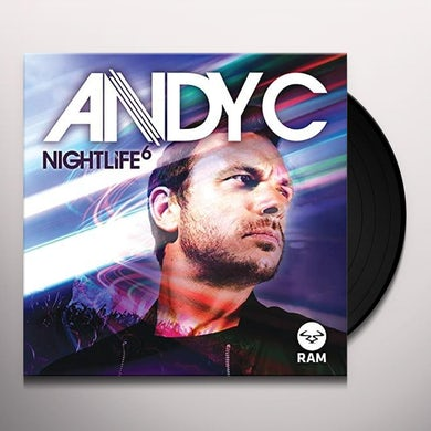 Andy C NIGHTLIFE 6: PART 1  (EP) Vinyl Record - UK Release