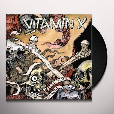 Vitamin X FULL SCALE ASSAULT Vinyl Record