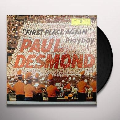 Paul Desmond FIRST PLACE AGAIN Vinyl Record