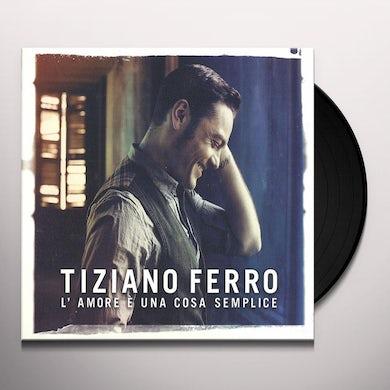 Ferro Tiziano L'AMORE E UNA COSA SEMPLICE Vinyl Record