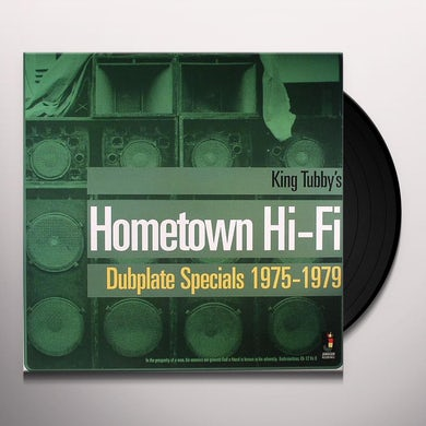 King Tubby HOMETOWN HI-FI / DUBPLATE SPECIALS 1975 - 1979 Vinyl Record
