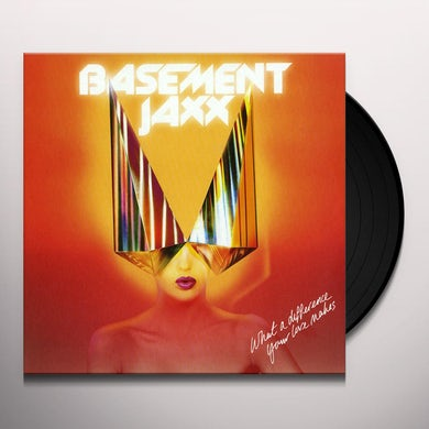 Basement Jaxx WHAT A DIFFERENCE YOUR LOVE MAKES / BACK 2 THE Vinyl Record