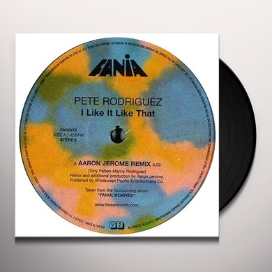 Fania Remixed: I Like It Like That / Various Vinyl Record