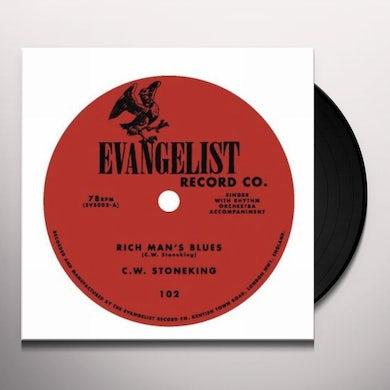 C.W. Stoneking RICH MANS BLUES Vinyl Record