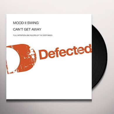Mood Ii Swing CANT GET AWAY Vinyl Record - UK Release
