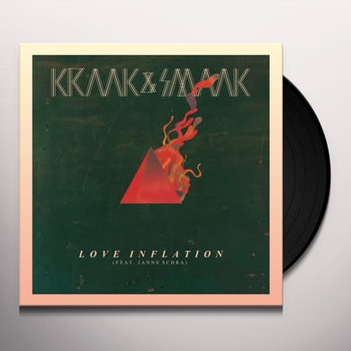 Kraak & Smaak LOVE INFLATION Vinyl Record - UK Release