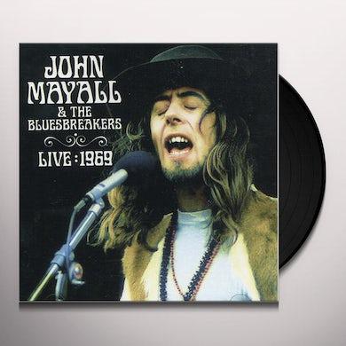 John Mayall LIVE 1969 Vinyl Record