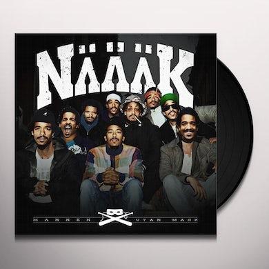 Naaak MANNEN UTAN MASK Vinyl Record