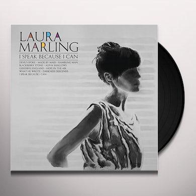 Laura Marling SPEAK BECAUSE I CAN Vinyl Record - 180 Gram Pressing