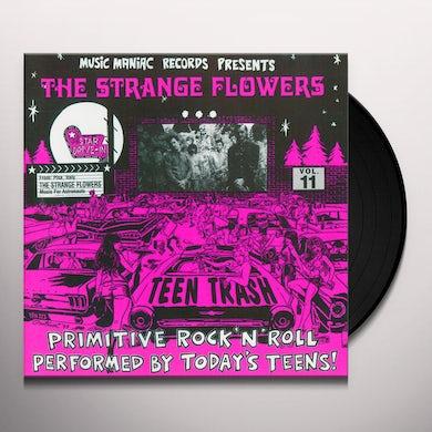 Strange Flowers TEEN TRASH 11: FROM PISA ITALY (Vinyl)