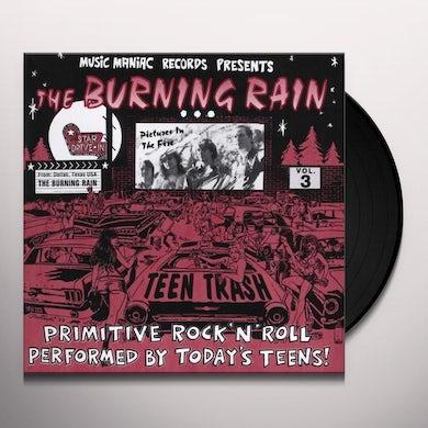Burning Rain TEEN TRASH 3: FROM DALLAS TX (Vinyl)