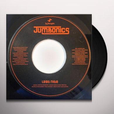 Jumbonics LAST NITE Vinyl Record