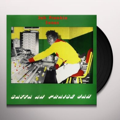 Jah Frankie Jones SATTA AN PRAISE JAH Vinyl Record