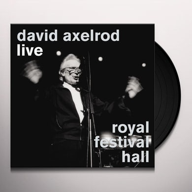 David Axelrod LIVE AT THE ROYAL FESTIVAL HALL Vinyl Record