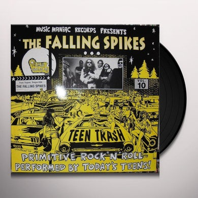Falling Spikes TEEN TRASH 10: FROM EUGENE OR Vinyl Record