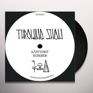 Throwing Snow UN VINGT/CRONOS Vinyl Record - UK Release