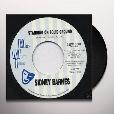 Sidney Barnes STANDING ON SOLID GROUND (UK) (Vinyl)