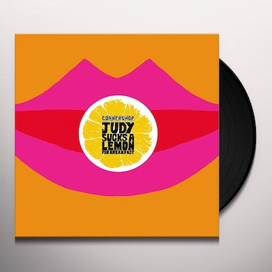 Cornershop JUDY SUCKS A LEMON FOR BREAKFAST Vinyl Record - UK Release