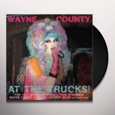 Wayne County AT THE TRUCKS Vinyl Record