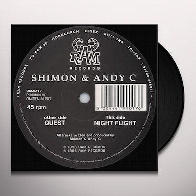 Shimon & Andy C QUEST/NIGHFLIGHT Vinyl Record