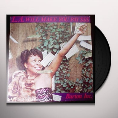 Burton Inc L.A WILL MAKE YOU PAY/IF YOU LOVE ME Vinyl Record - UK Release