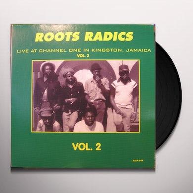 Roots Radics CHANNEL ONE KINGSTON JAMAICA 2 Vinyl Record