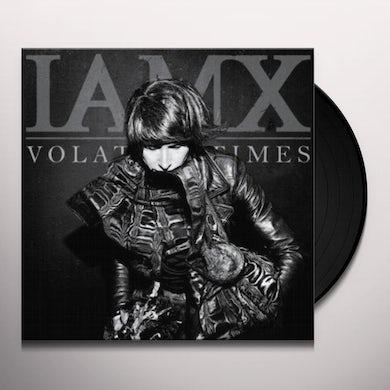 Iamx VOLATILE TIMES (BONUS CD) Vinyl Record - Limited Edition