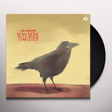 Jim Guthrie NOW MORE THAN EVER (BONUS TRACKS) (Vinyl)