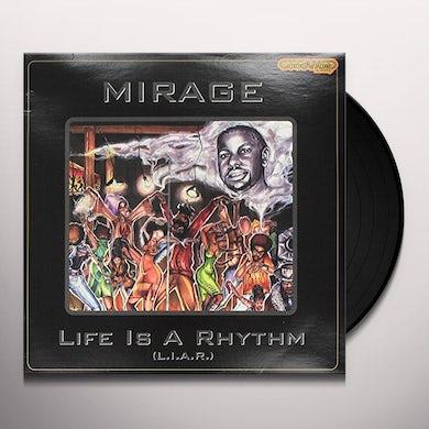 Mirage LIFE IS A RHYTHM Vinyl Record