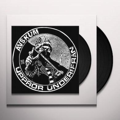 Avskum UPPROR UNDERIFRAN (Vinyl)