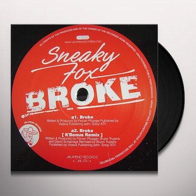 Sneaky Fox BROKE Vinyl Record - UK Release