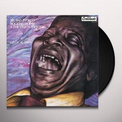 Rockin Dopsie BIG BAD ZYDECO Vinyl Record